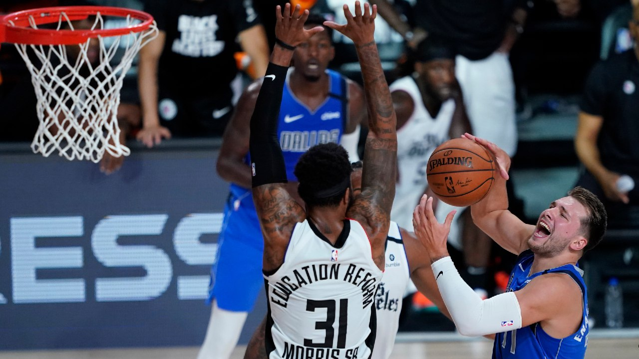 NBA Twitter believes Marcus Morris intentionally stepped on Luka Doncic's injured ankle