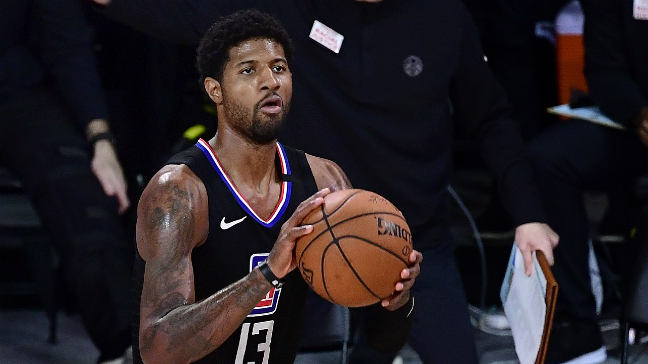 Paul George downplays Clippers disappointment: 'This is not a championship-or-bust year for us'