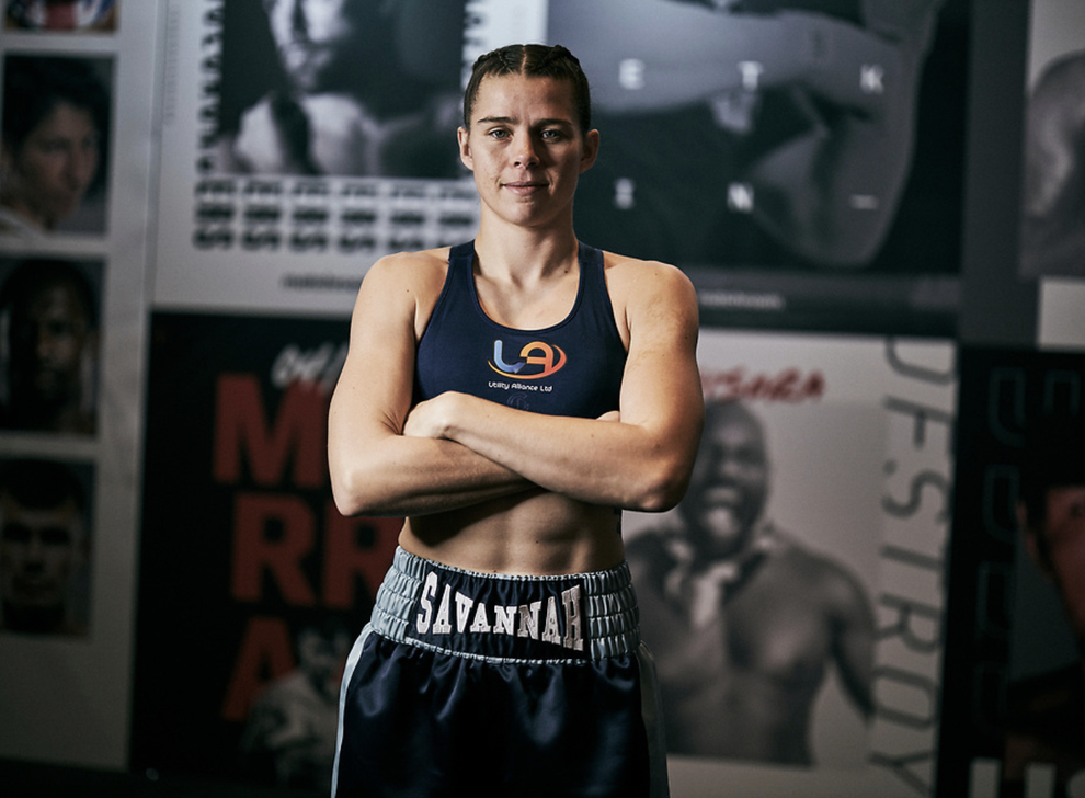 The British boxing champion with the world at her feet