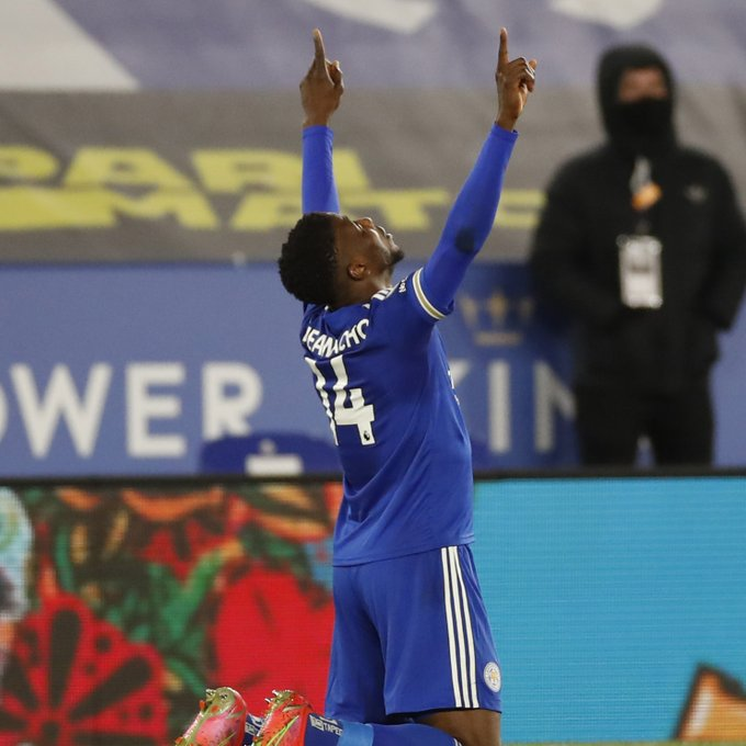 """Leicester City's Iheanacho """"SeniorMan"""" Had been on his Peck For a while Now."""
