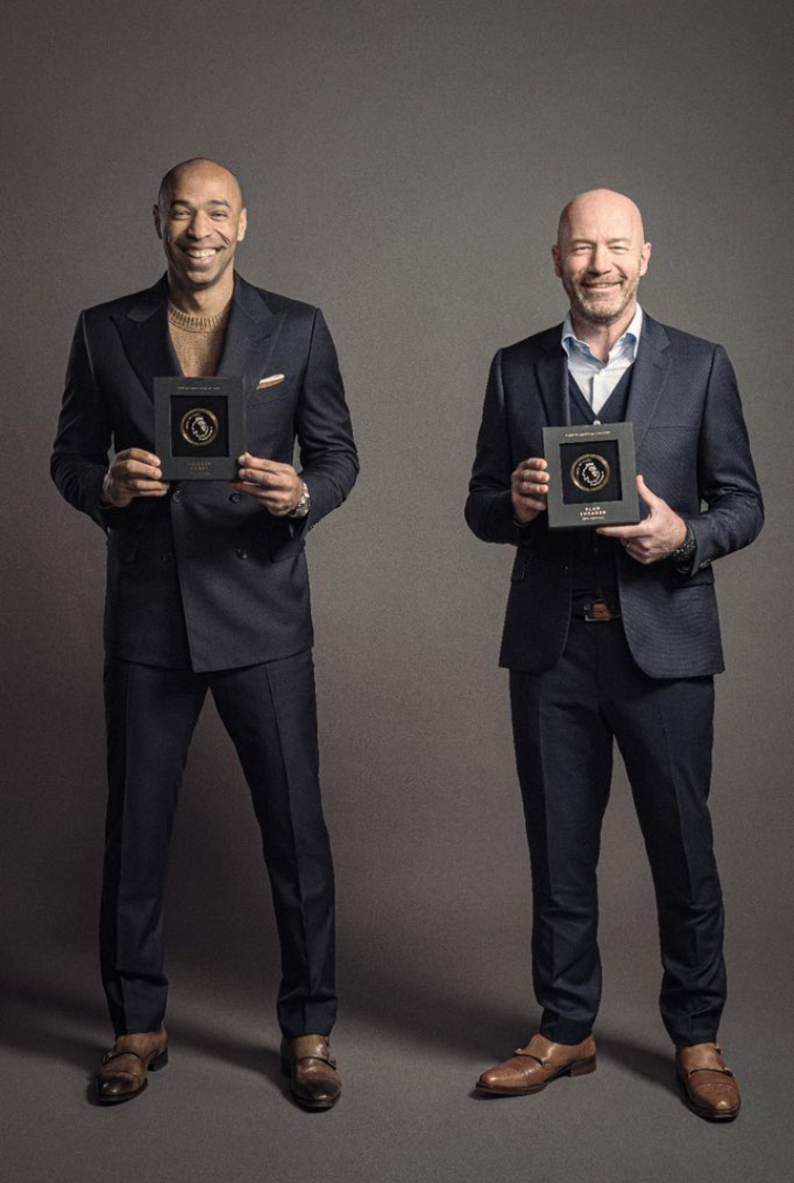 Shearer & Henry named as first two inductees into Premier League Hall of Fame